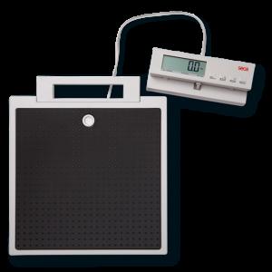 Báscula de piso con indicador remoto por cable Seca 869
